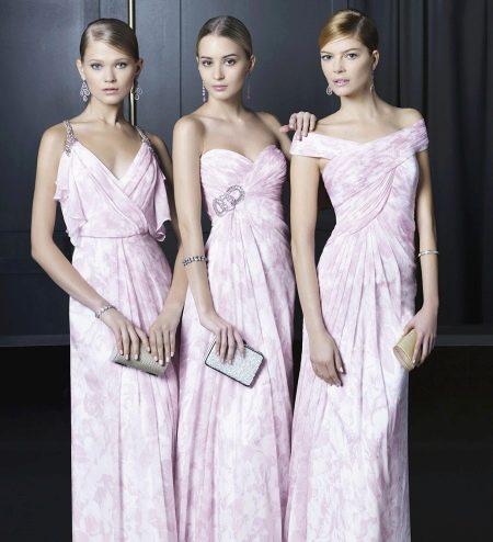 Вечернее платье в греческом стиле от Роза Клара