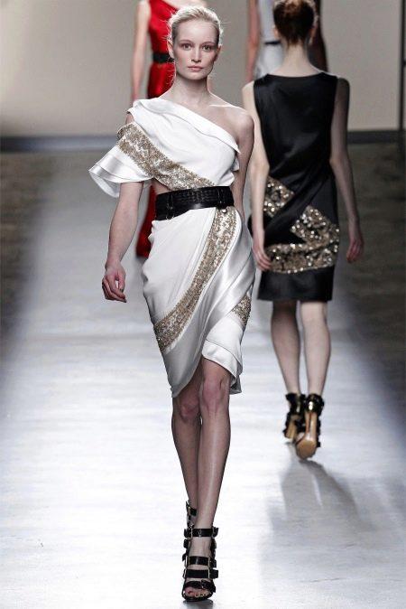 Платье греческое короткое вечернее