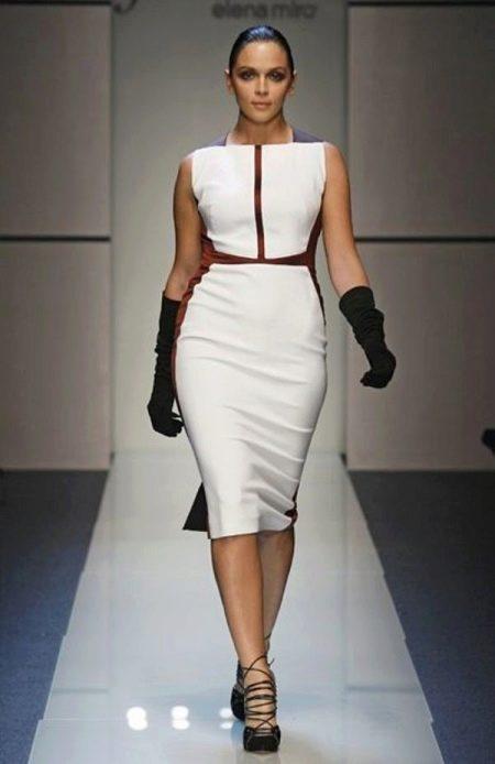 Короткое нарядное вечернее платье от Елена Миро