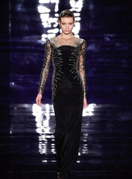 Вечернее платье с вышивкой от Reem Acra