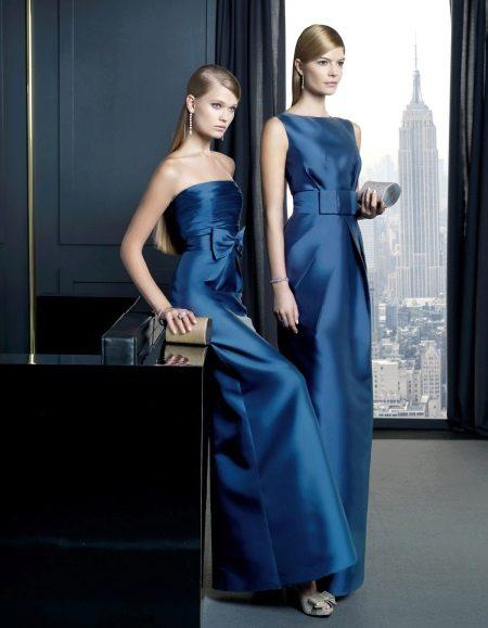 Синие вечерние платья от Роза Клара