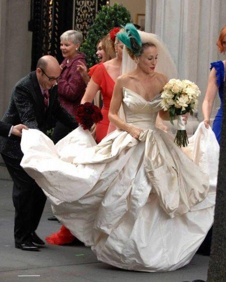 Свадебное платье Сары Джесики Паркер