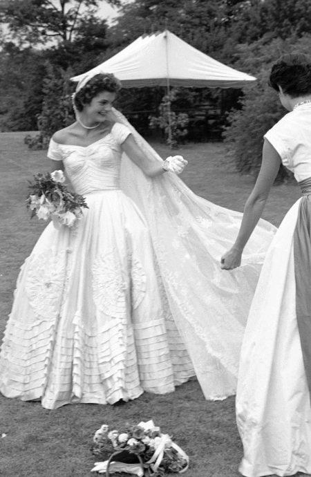 Свадебное платье Жаклин Кенеди
