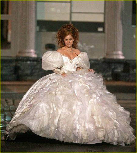 """Свадебное платье в стиле принцесса из фильма """"Зачарованная"""""""