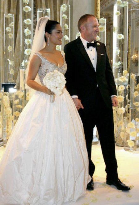 Свадебное платье Сальмы Хаек