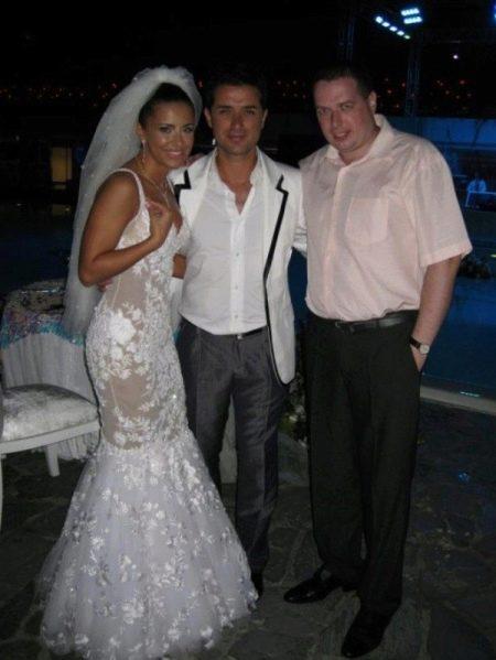 Свадебное платье прозрачное русалка Ани лорак