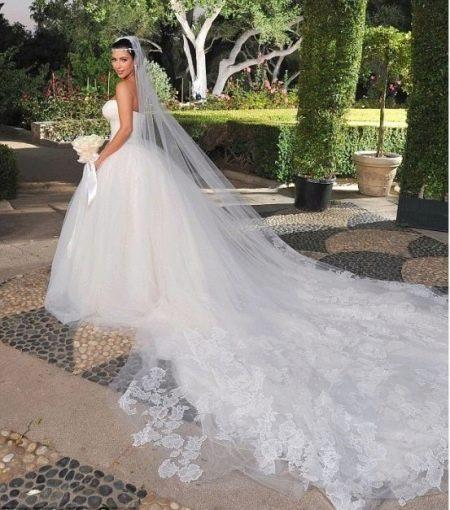 Свадебное платье Евы Лонгории
