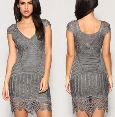 Вечернее платье крючком от Karen Millen