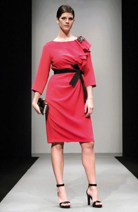 Миди платье для полных женщин