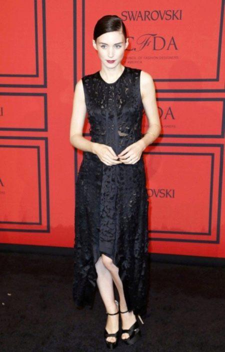 Вечернее платье короткое спереди длинное сзади Оливии Палермо