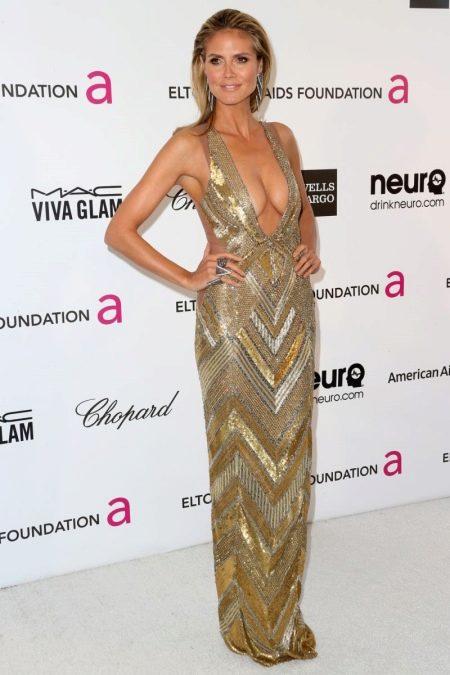 Вечернее платье Хайди Клум