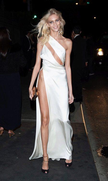 Вечернее платье Анны Рубик с разрезом