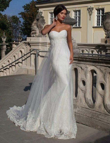 Свадебное платье от Crystal Design кружевное