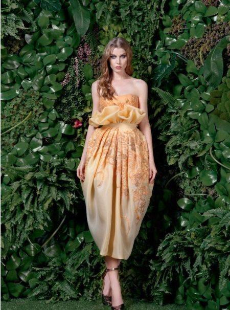 Вечернее платье баллон