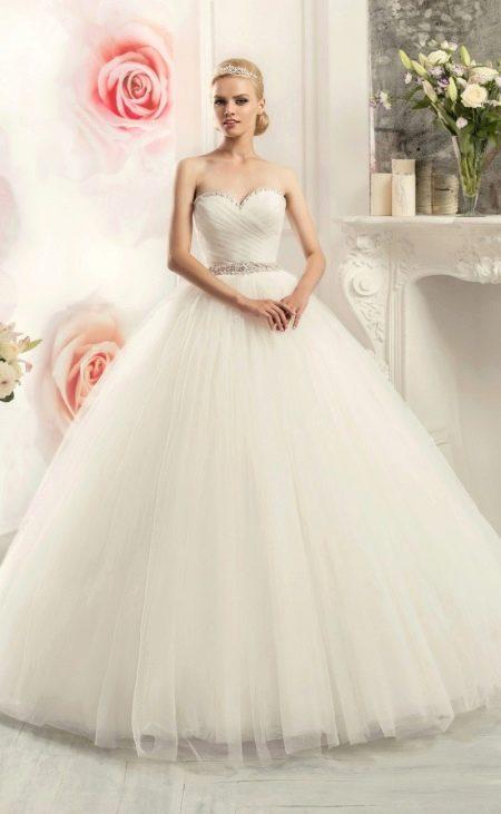 Свадебное платье самое пышное из коллекции BRILLIANCE от Naviblue Bridal