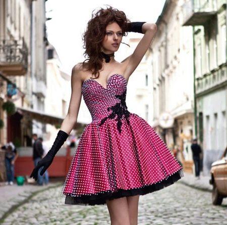Вечернее короткое платье от Оксаны мухи пышное