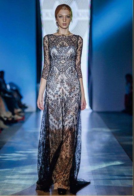 Вечернее платье  из коллекции Privee 2014