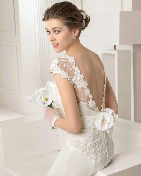Свадебное платье с ажуром