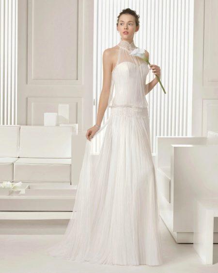 Свадебное платье 2015 от Роза Клара с американской проймой