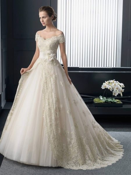 Свадебное платье в стиле принцесса от Two by Rosa Clara 2015