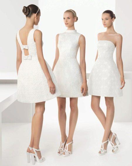 Свадебное платье от Роза Клара 2013 мини