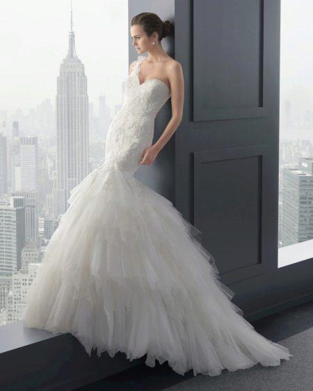 Свадебное платье русалка из Two by Rosa Clara