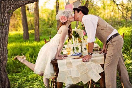 Свадебный костюм к наряду невесты айвори