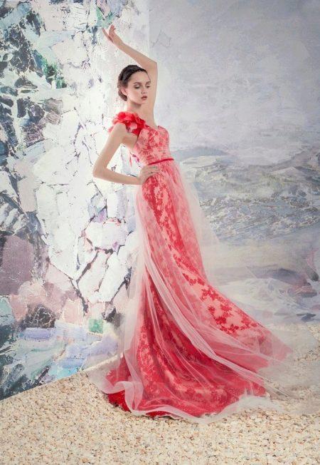 Papilio свадебное красное платье