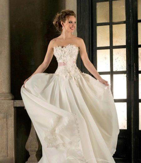 Свадебное платье русалка от Габбиано