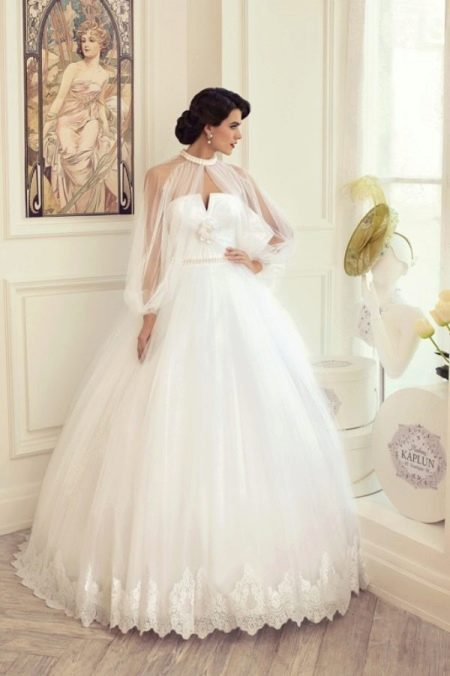 Пышное свадебное платье из коллекции Утомленные роскошью Татьяны Каплун