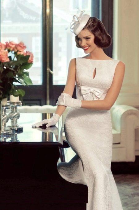 Свадебное прямое платье от Татьяны Каплун
