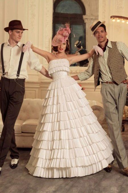 Свадебное платье из коллекции Jazz Sounds Татьяны Каплун