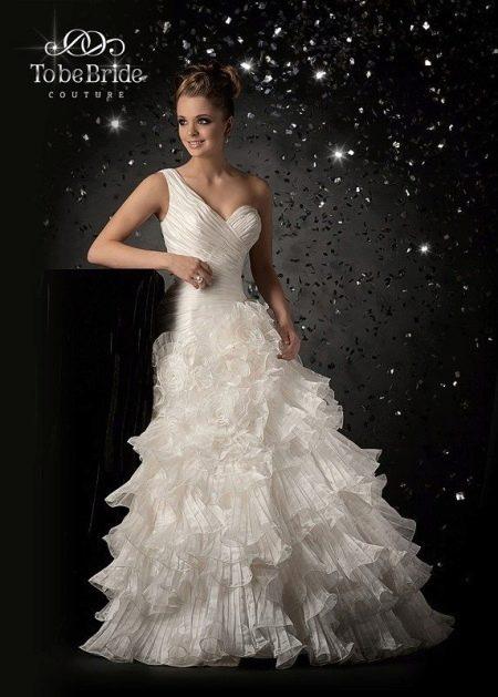 Свадебное платье многослойное от  To Be Bride 2011