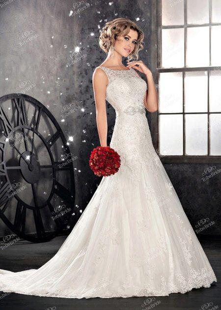 Свадебное платье из Bridal Collection 2014 рыбка