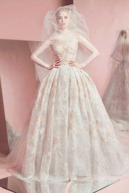 Свадебное платье пышное от Зухаира Мурада пышное