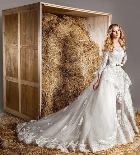 Свадебное платье-транформер от Зухаира Мурада