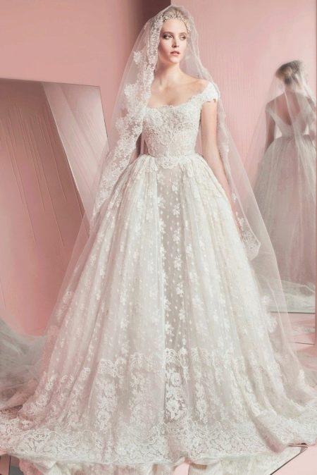 Свадебное платье 2016 от Zuhair Murad в стиле принцесса