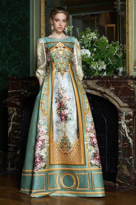 Вечернее платье 2016 от Альберты Феррети в стиле барокко