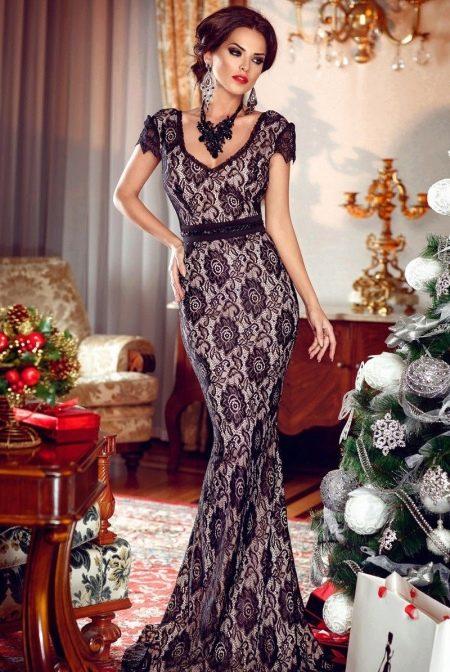 Вечернее платье на Новый год 2016