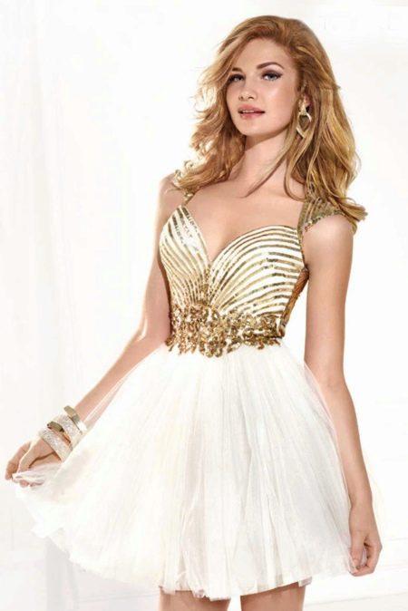 Вечернее платье на выпускной от Тарик Эдиз