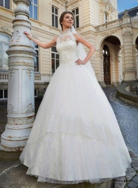 Свадебное платье пышное из коллекции Оскар