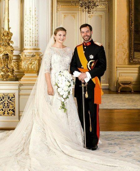 Свадебное платье принцессы Софии от Элли Сааба