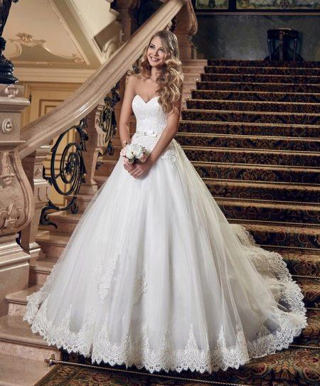 Свадебное платье в стиле принцесса от Евы Уткиной