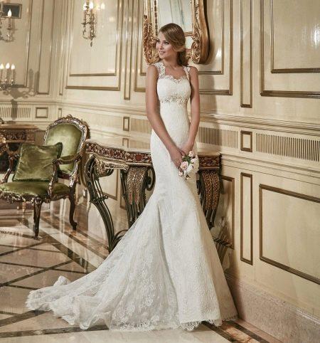 Свадебное платье русалка из коллекции Сияние Нежности