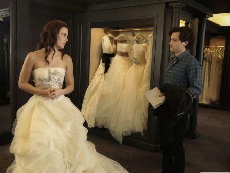 Выбор свадебного платья женихом