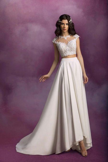 Свадебный наряд от Романовой