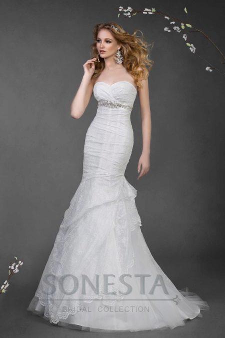 Русалка свадебное платье от Наталии Романовой