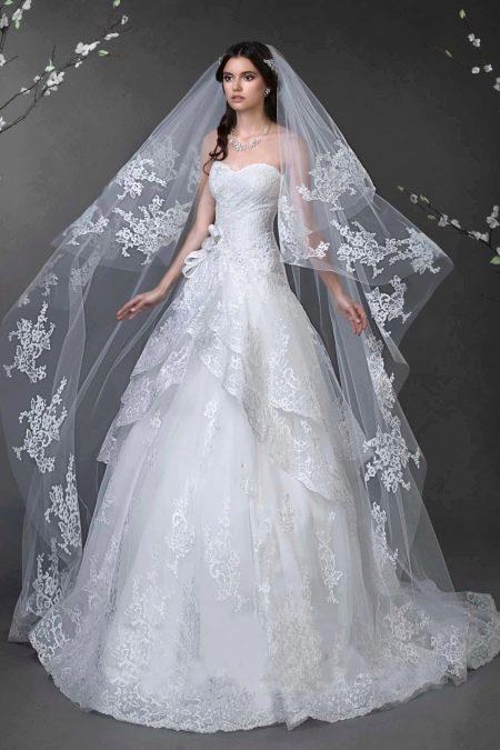 Платье свадебное от Натальи Романовой