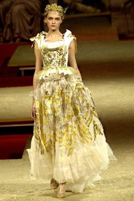 Свадебное платье от Кристиана Лакруа
