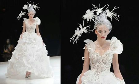 Свадебное платье от Юми Кацура
